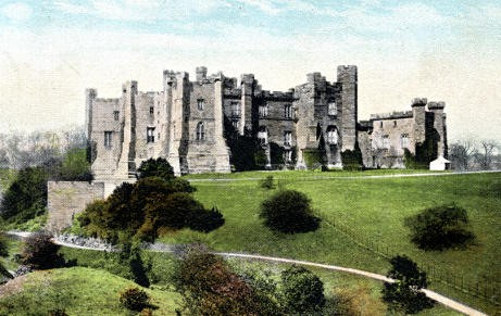 Brancepeth Castle, early 20th C