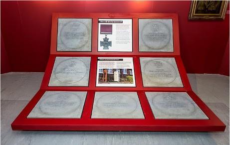 Victoria Cross commemorative stones at the DLI Museum