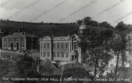 Durham Miners' Association New Hall and Offices, Redhills, Durham
