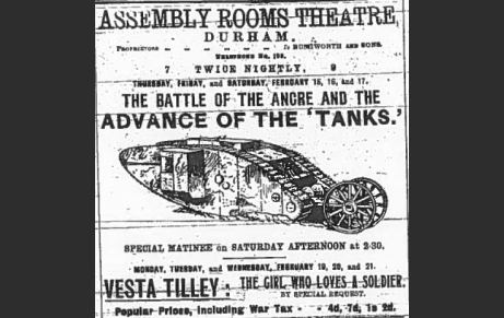 Image result for THE BATTLE OF THE ANCRE AND ADVANCE OF THE TANKS