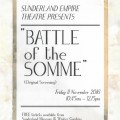 Sunderland showing Battle of Somme