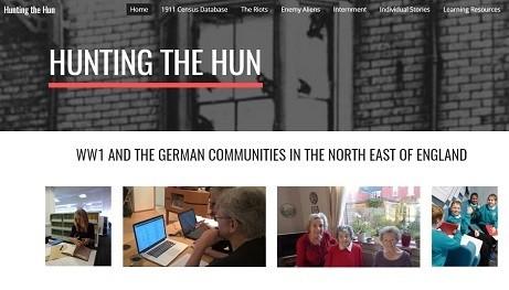 Hunting the Hun website