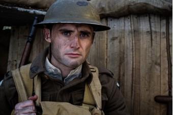Shane Palmer as a First World War soldier